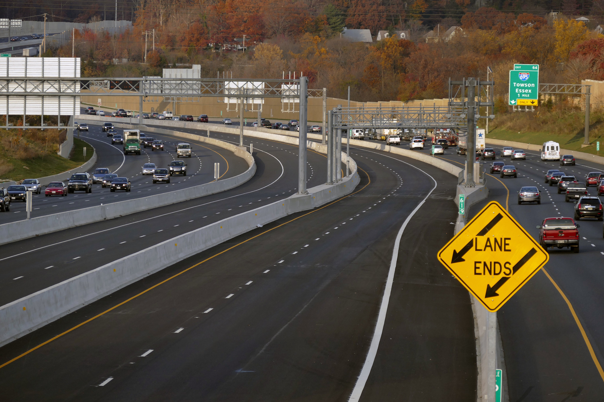 Express toll lanes on I-95 north of Baltimore set to open ...