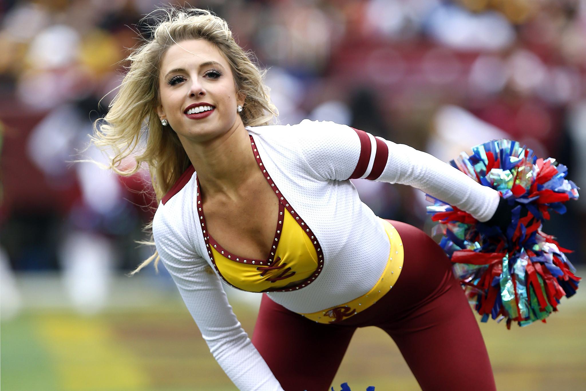 Die heien Cheerleader der NFL-Teams - rande