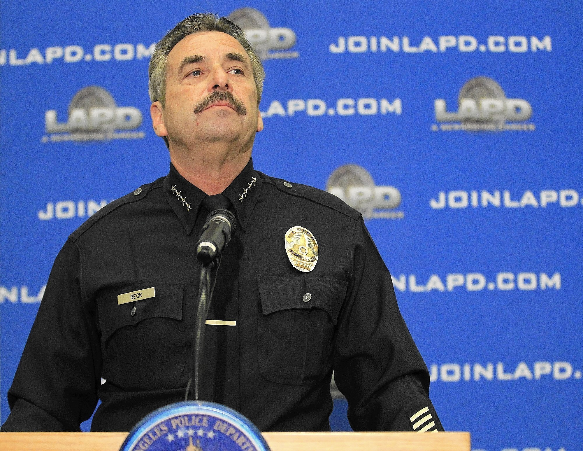 lapd study focused on small part of discipline system