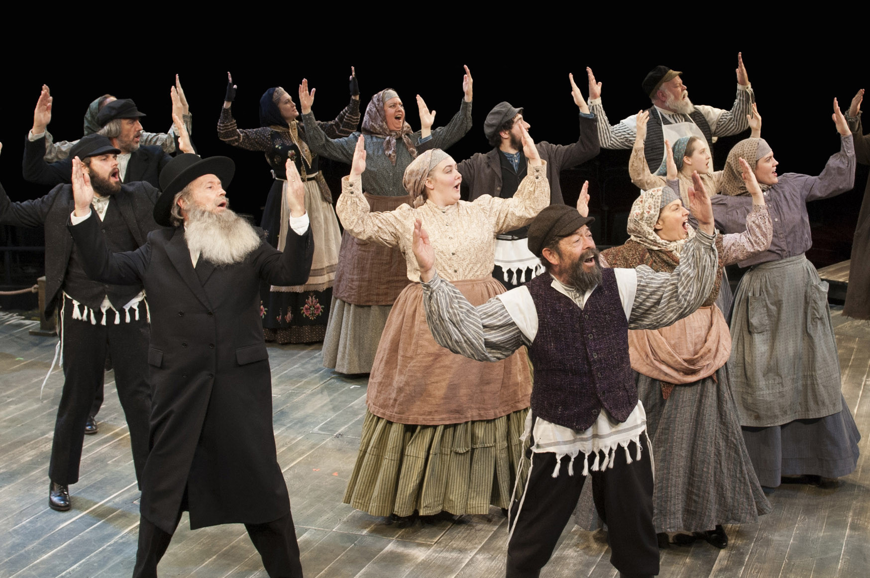 Arena Stage Delivers Effective Revival Of U0027Fiddler On The Roofu0027   Baltimore  Sun
