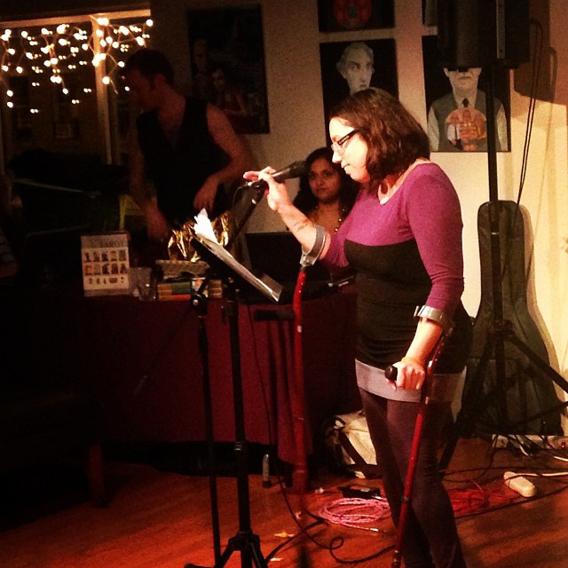 Now Hear This: Barbarella, Pancake Eating Contest, Poetry Reading, and more - Now See This - Mother Earth Poetry Vibe featuring Natalie E. Illum