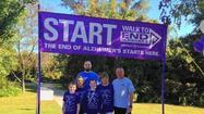 Long View team raises money for Alzheimer's walk