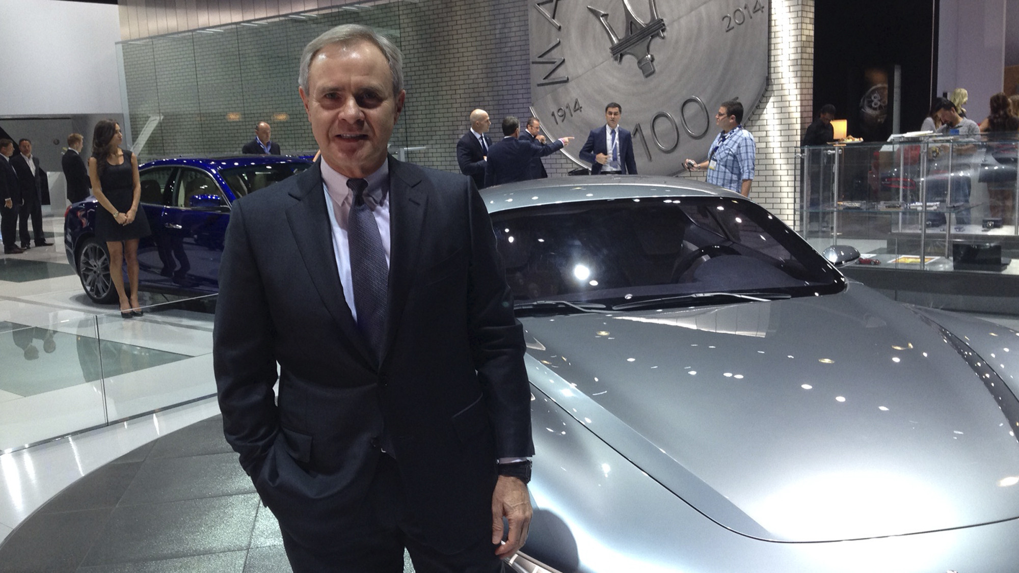 L A Auto Show 2014 Maserati Ceo Harald Wester On Sales