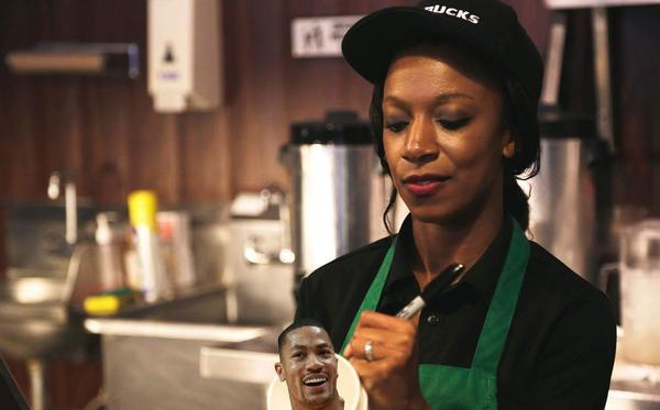 Starbucks illo