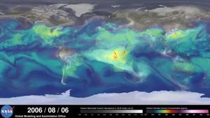 Related story: NASA's trippy video shows a year of C02 emissions in 3 minutes