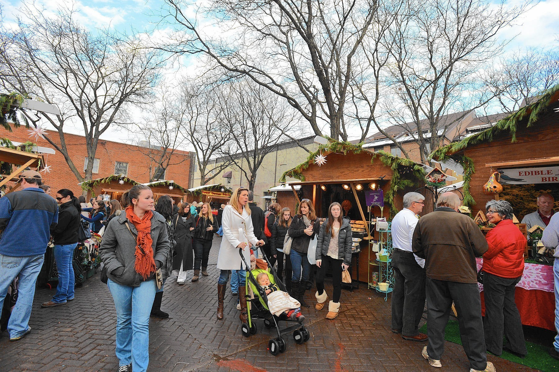 christmas city village opens nov 21 in downtown bethlehem the morning call