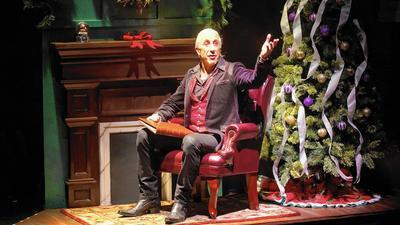 review 39 dee snider 39 s rock roll christmas tale 39 at the. Black Bedroom Furniture Sets. Home Design Ideas