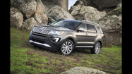 2016 Ford Explorer has bold new look, new engine choices