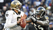 Drew Brees well aware that Ravens are the only team he hasn't beaten