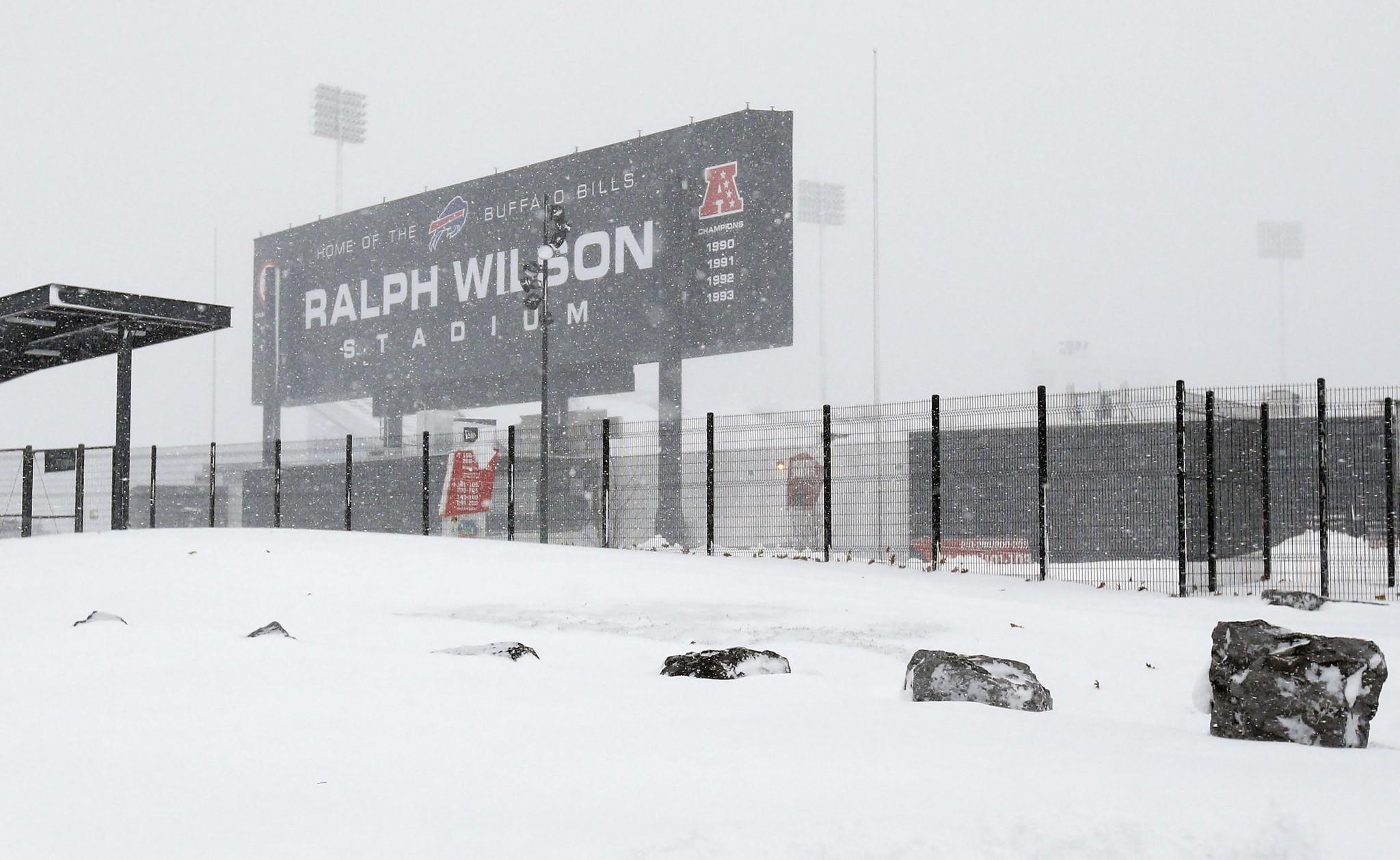 Buffalo Bills Cancel Sunday
