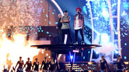 With U.S. politics in play Anthony, de Lucia take Latin Grammys