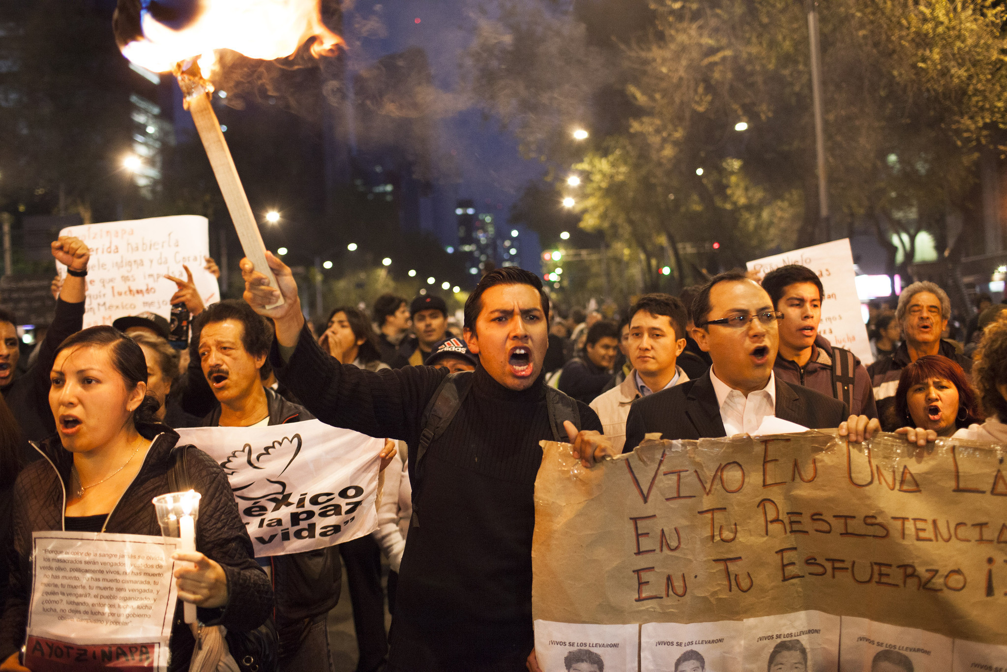social protest in mexico essay