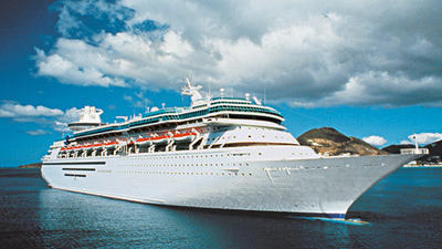 Royal Caribbean saying bon voyage to Majesty of the Seas