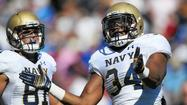 Navy football players receive service assignments