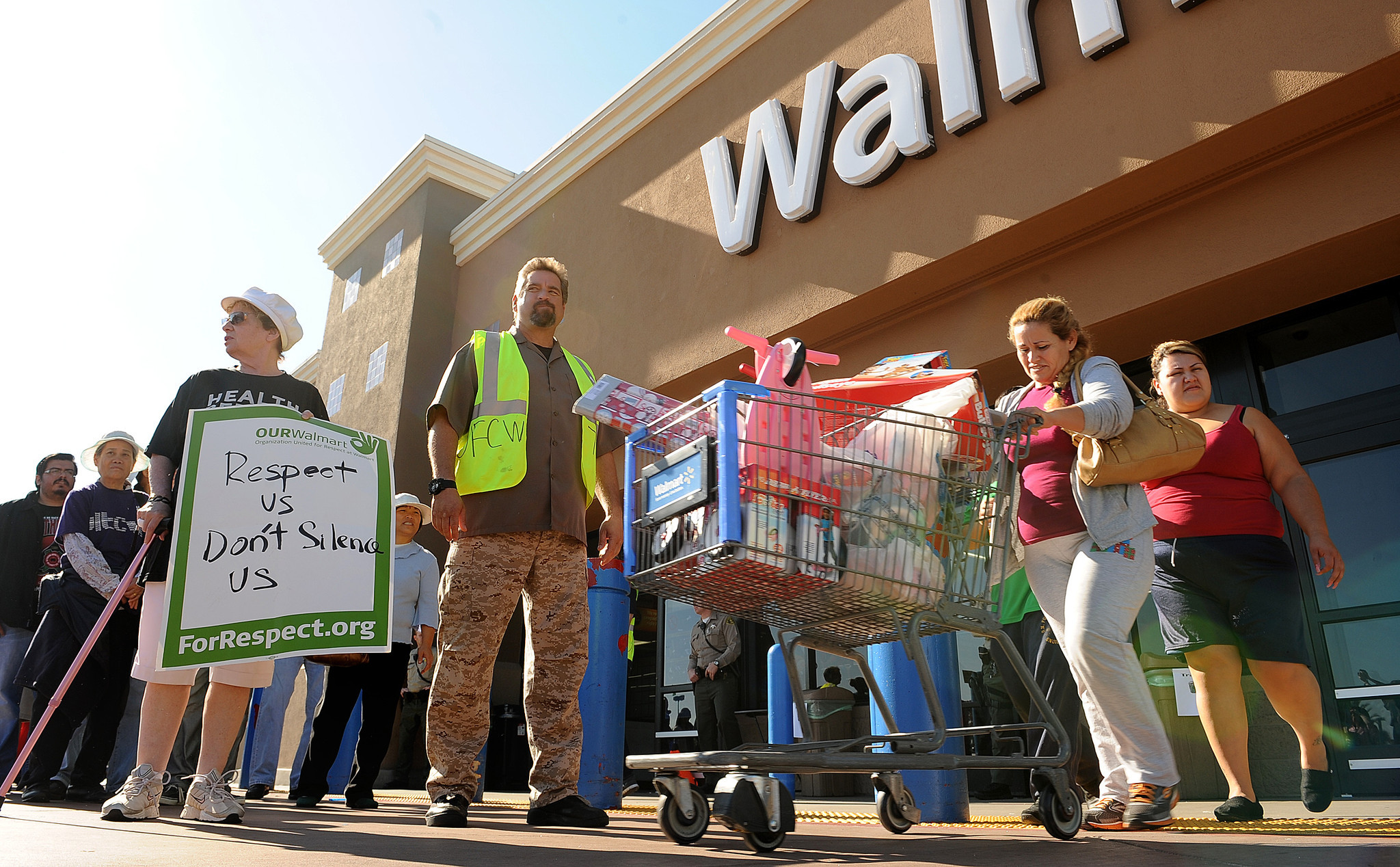 Wal-Mart protest