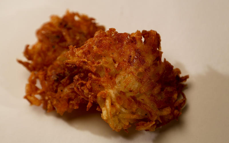 Recipe: Classic potato latkes - California Cookbook