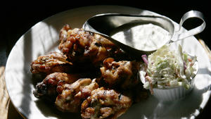 Muldoon's whiskey-marinated wings