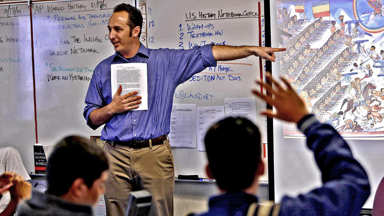 Stanford history curriculum at L.A. Unified