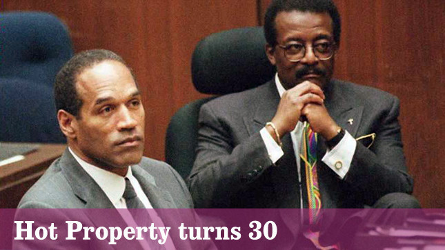 Hot Property column played a role in the O.J. Simpson murder trial