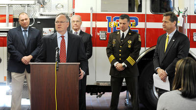 Anne Arundel's new police, fire chiefs discuss what comes next