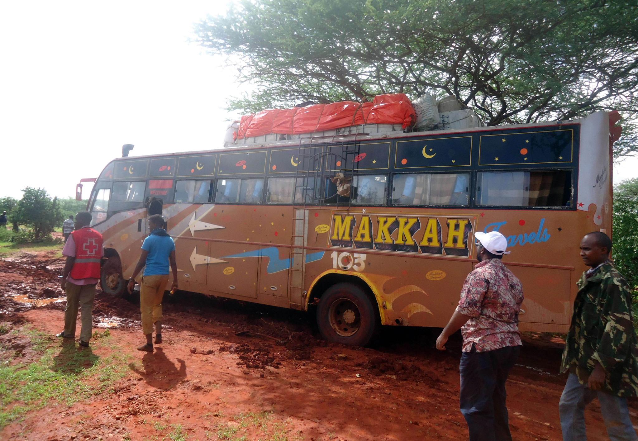 Kenya says it killed 100 attackers behind bus ambush that killed 28