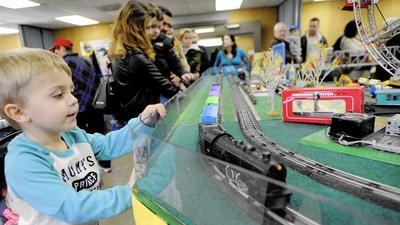 Model trains powered by appreciation