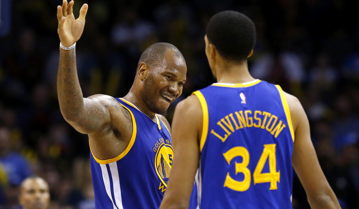 Marreese Speights scores 28 as Golden State beats Oklahoma City, 91-86
