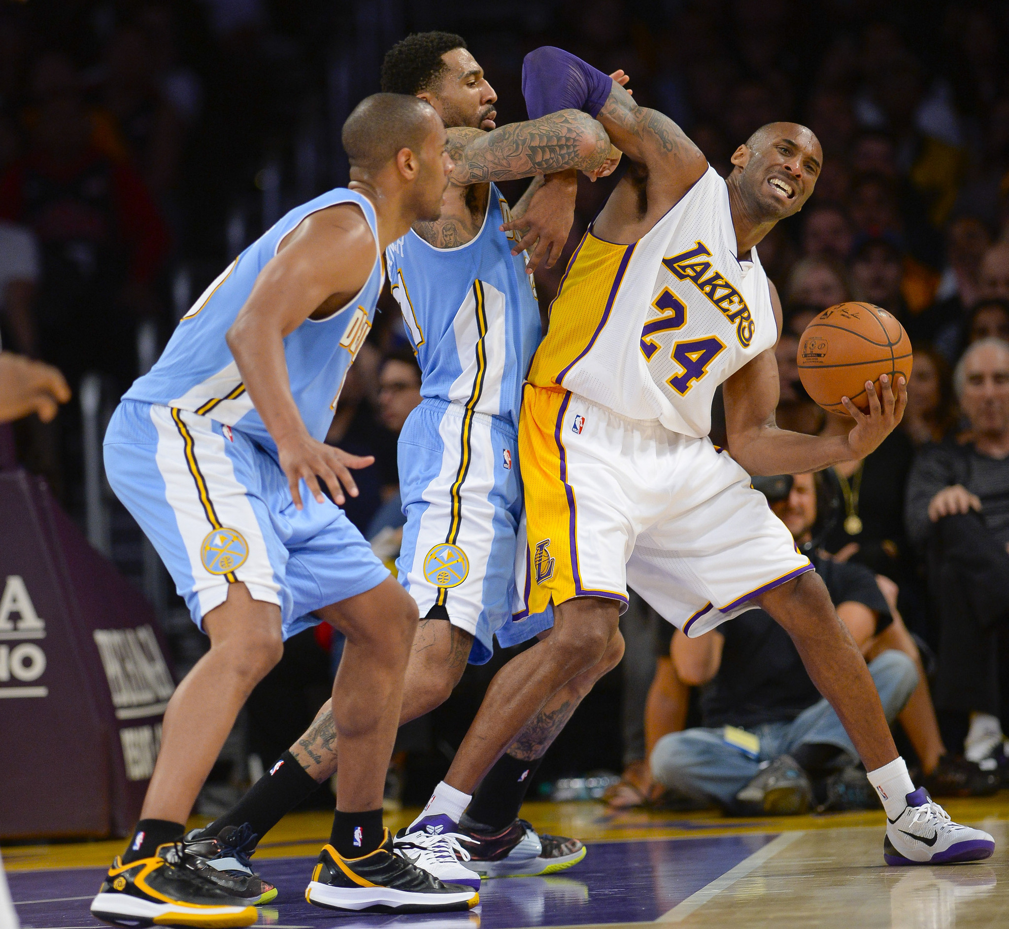 Nuggets Fall In Overtime To Wizards: Kobe Bryant And Lakers Miss-behave In Overtime Loss To