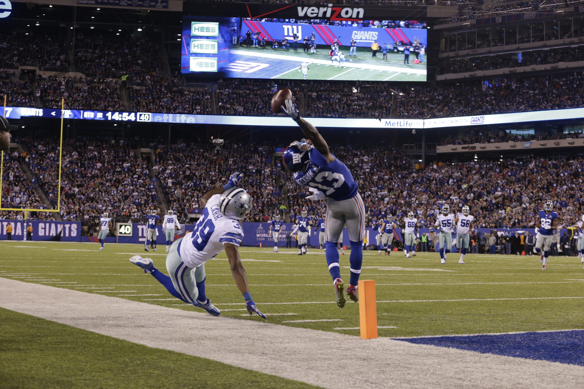 Was Odell Beckham Jr S Catch The Greatest Of All Time