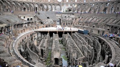 New floor planned for Rome's Colosseum