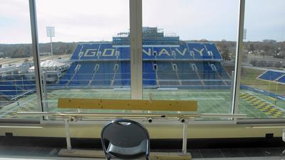 Club lounges to complete Navy stadium tower project