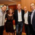 David Martinez, Michelle Bernstein, Karim Masri, Brett Orlando and Nicola Siervo