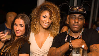 Coolio show in South Beach