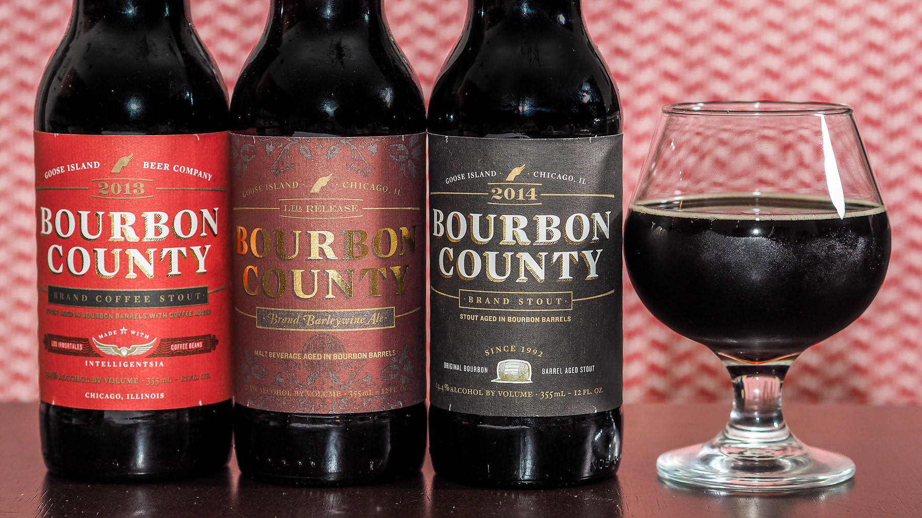 bourbon county black singles Today goose island beer co celebrates black friday with its annual release of bourbon county brand stout.
