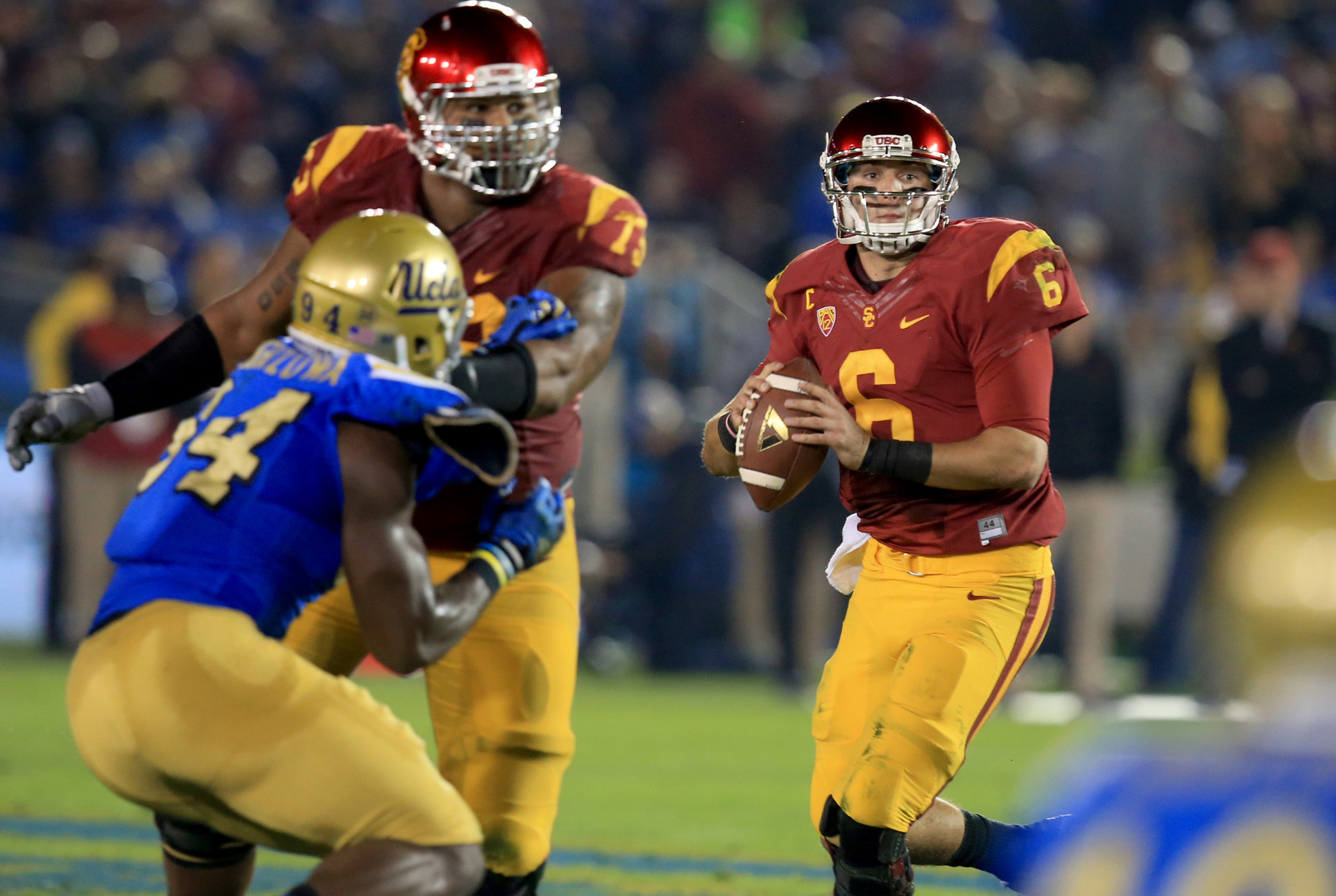 USC quarterback Cody Kessler aiming for first rivalry-game victory