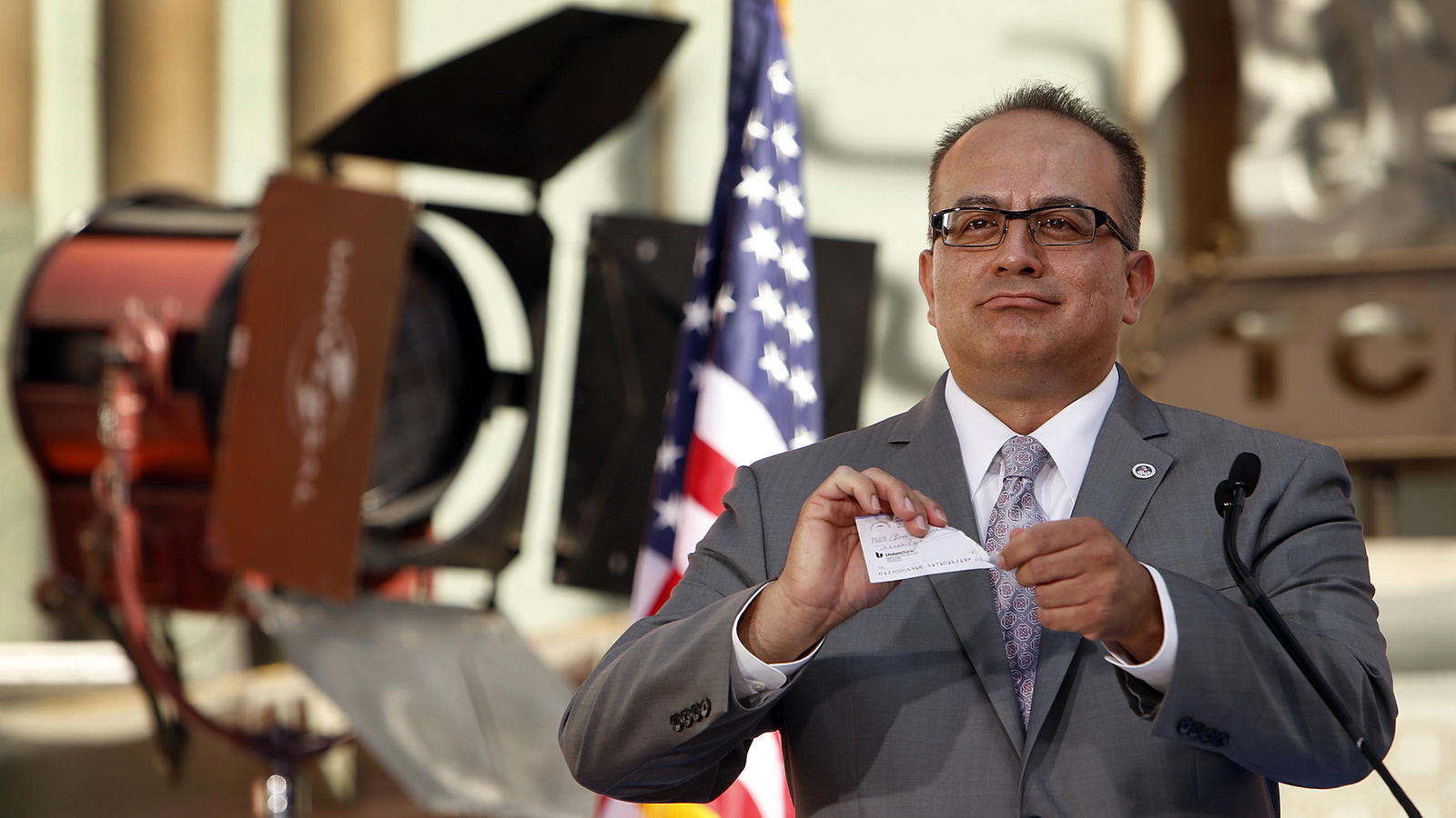 Raul Bocanegra reclaimed his Assembly seat Tuesday. (Los Angeles Times)