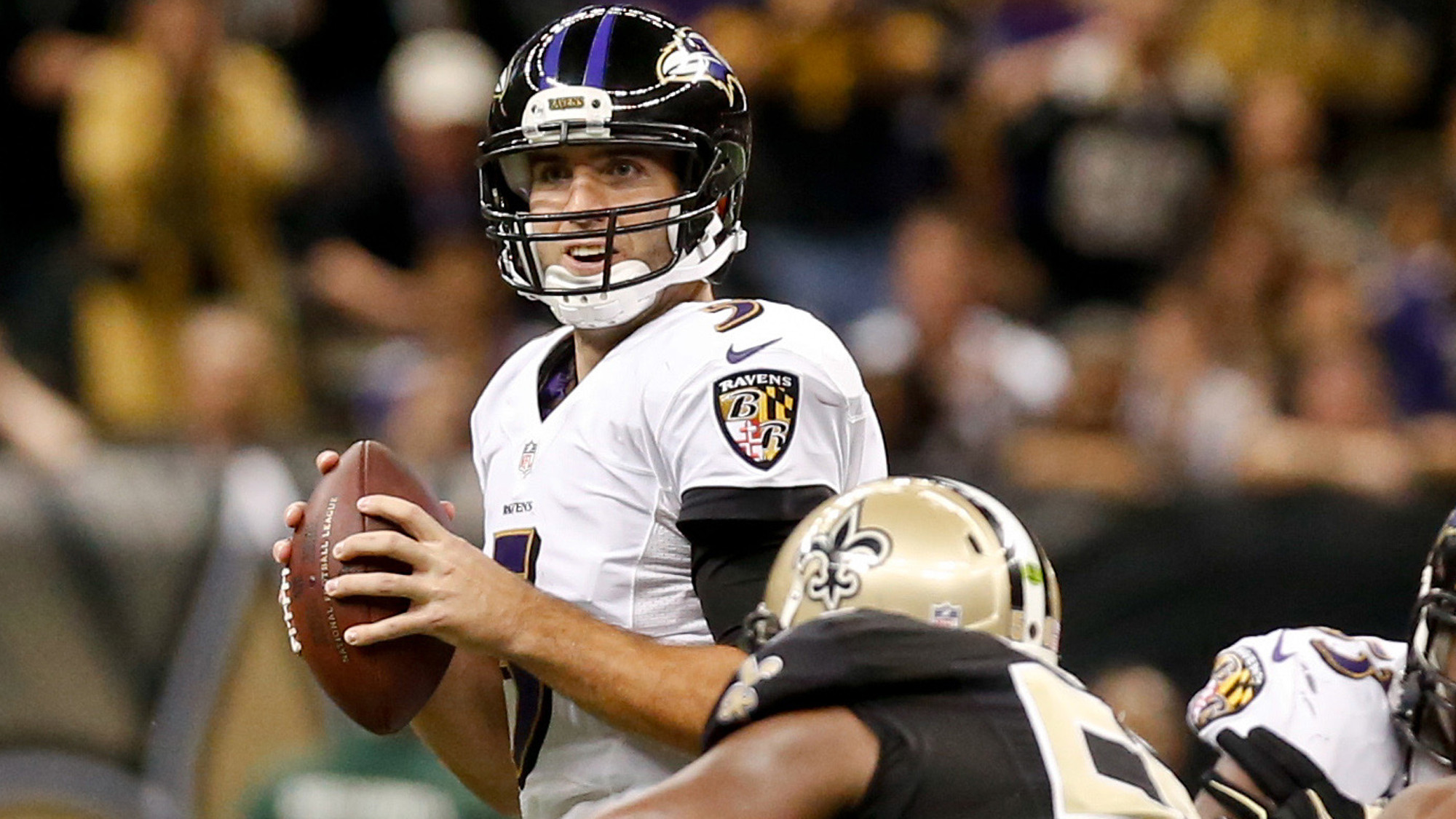 Film study of the Ravens' 34-27 win over the New Orleans Saints