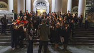 Ferguson Decision Prompts Hartford Vigil, New Haven Rally