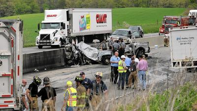 Police: NJ trucker was tired, driving too fast before deadly I-78 crash in Berks