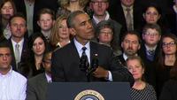 Obama condemns 'criminal' Ferguson violence