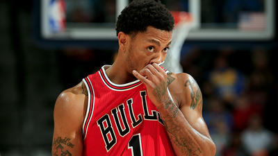 Derrick Rose ridiculed for latest injury