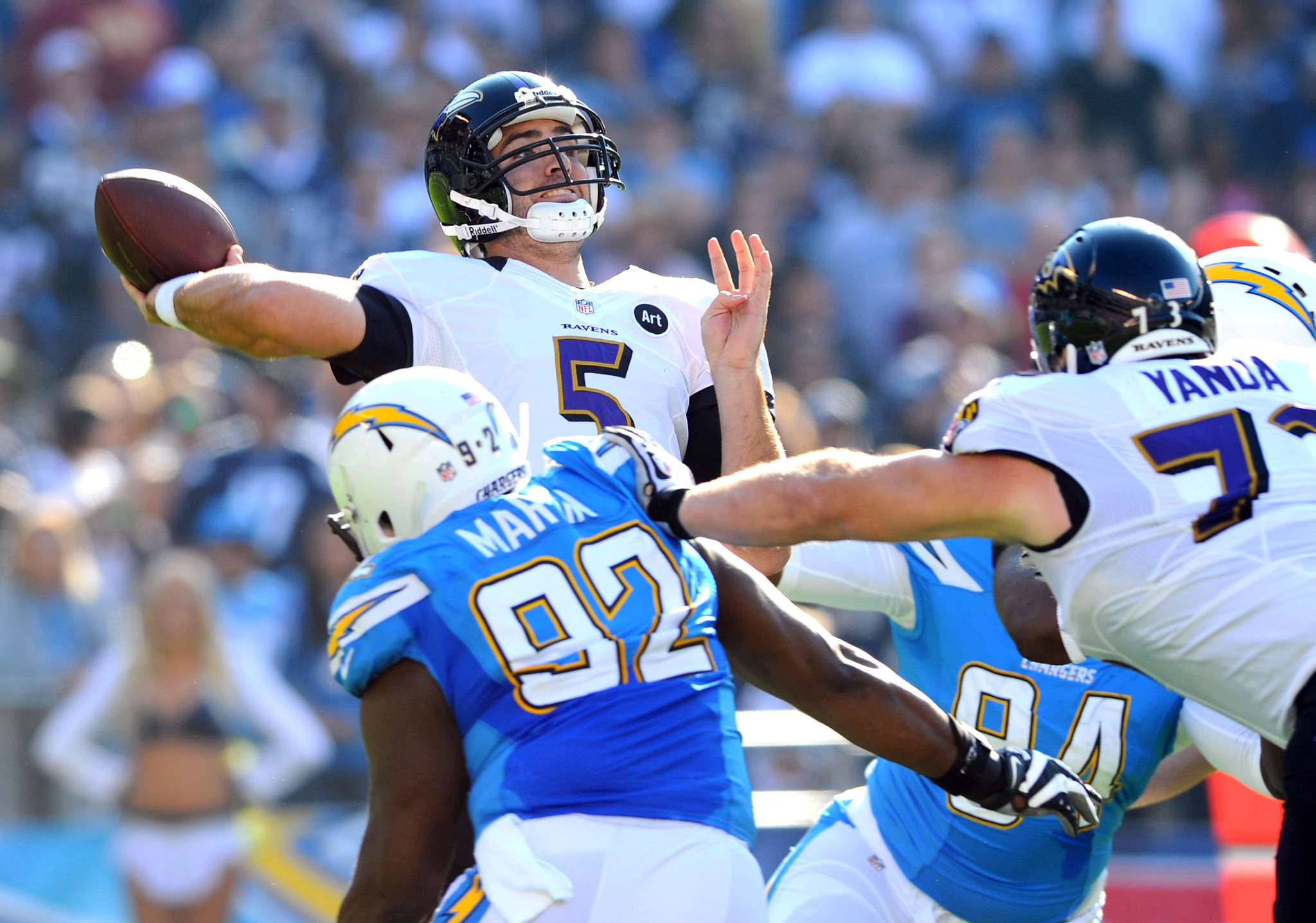 Five stats that stand out ahead of Sunday's Ravens-Chargers gam…