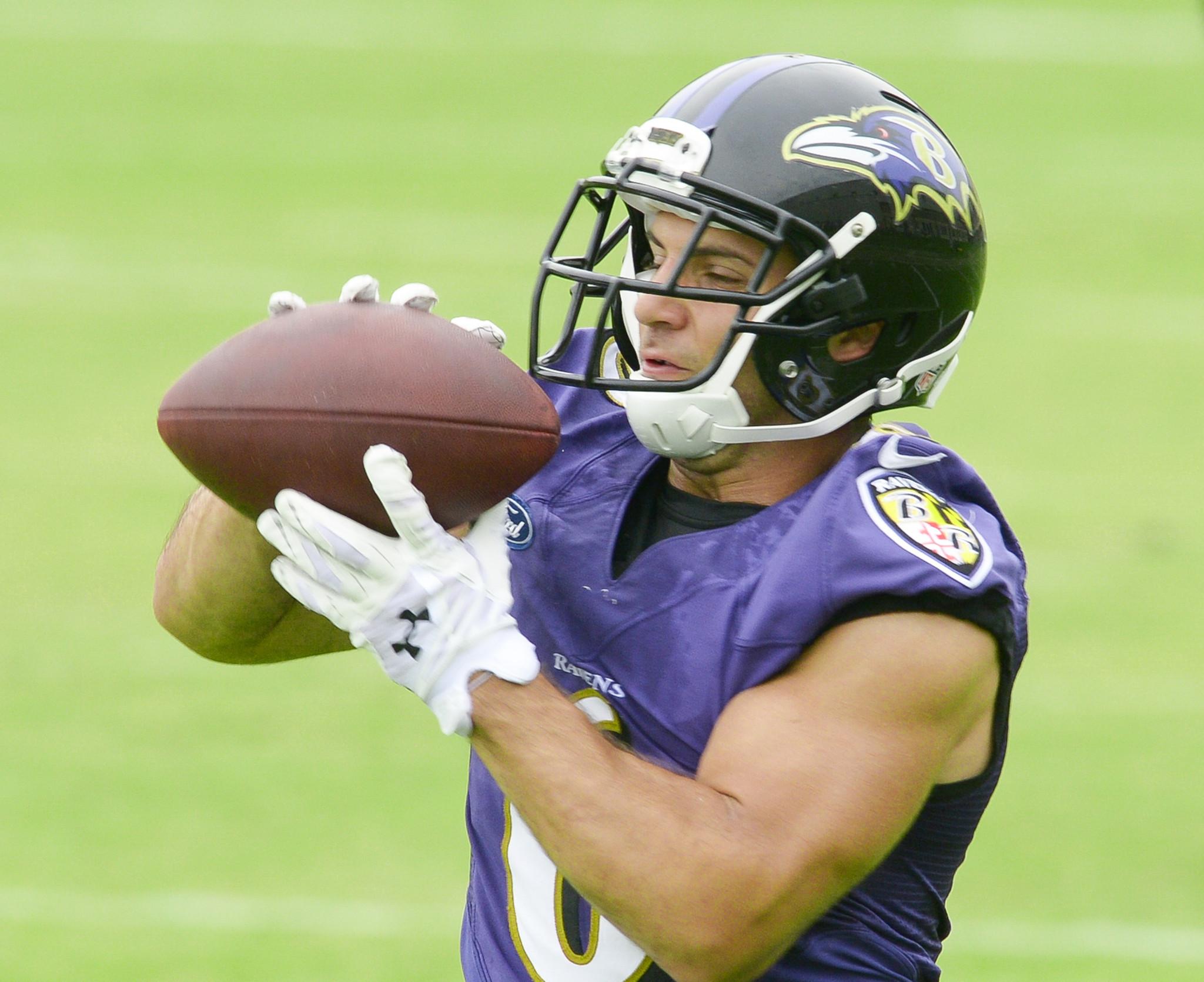 Ravens wide receiver Michael Campanaro, guard Jah Reid return t…