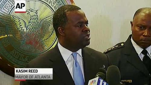 Atlanta mayor defends protest policing