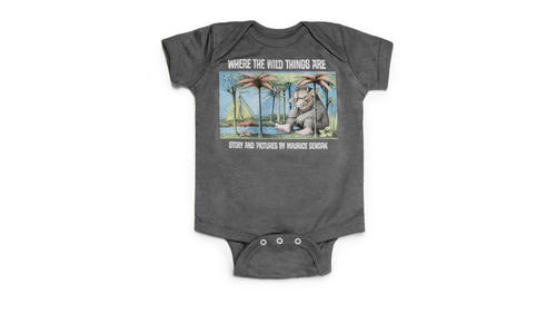 "Let the wild rumpus start with this ""Where the Wild Things Are"" onesie. ($20, Out Of Print Clothing)"