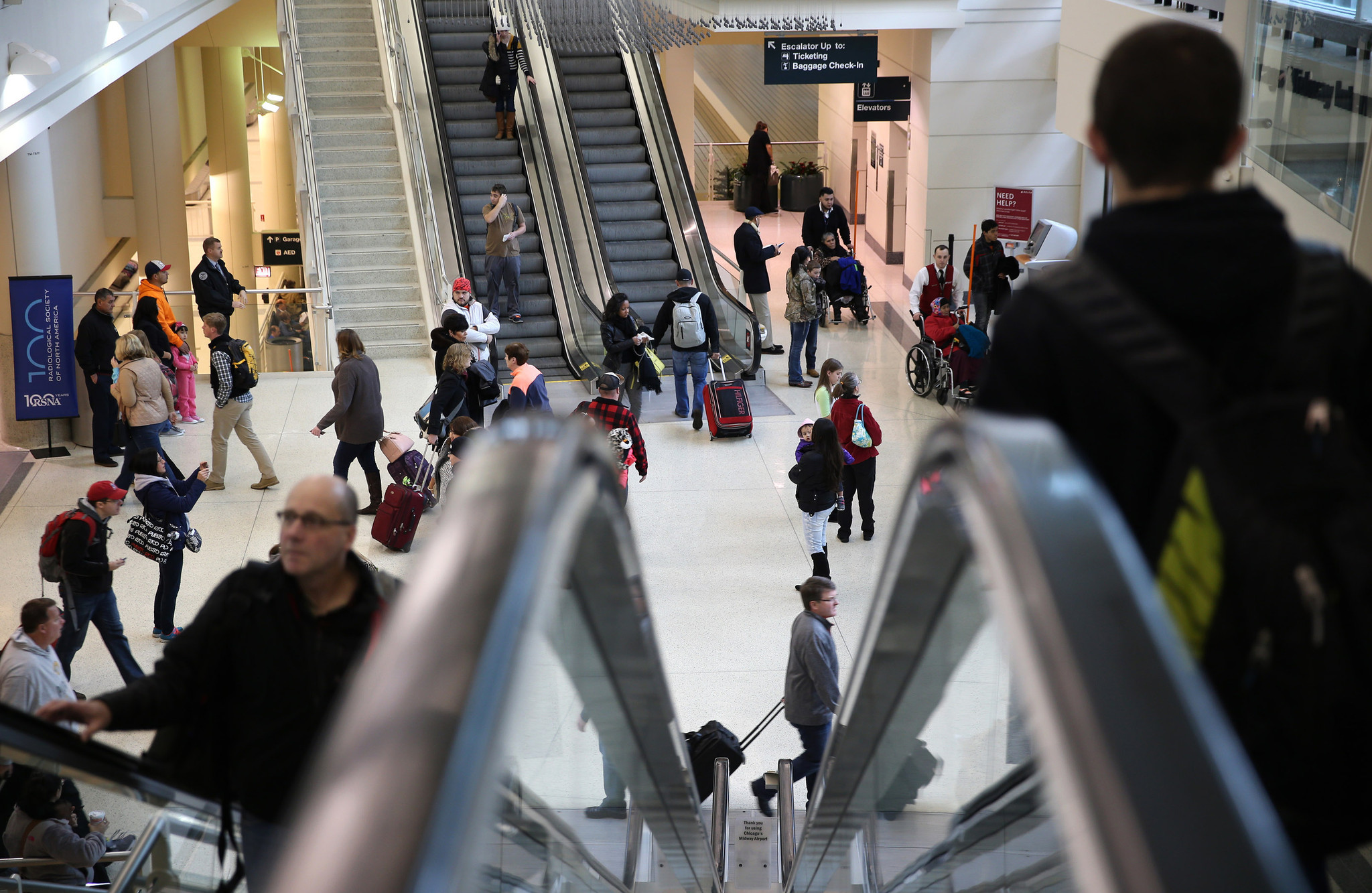Mythbuster: Thanksgiving Eve not busiest for air travel