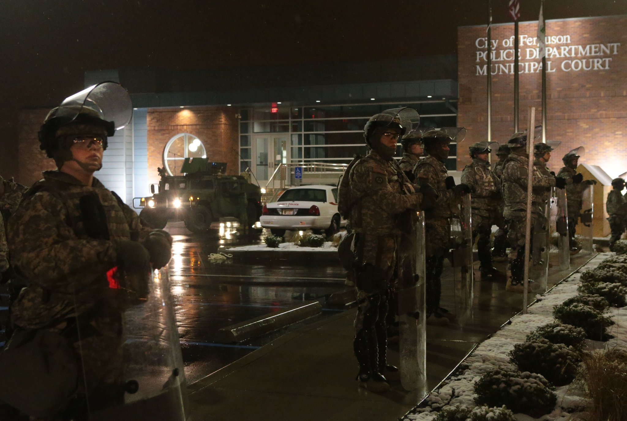 Ferguson forecast: Cold, wet, snow with a chance of calm