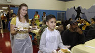 Photo Gallery: Thanksgiving lunch at the Glendale Salvation Army