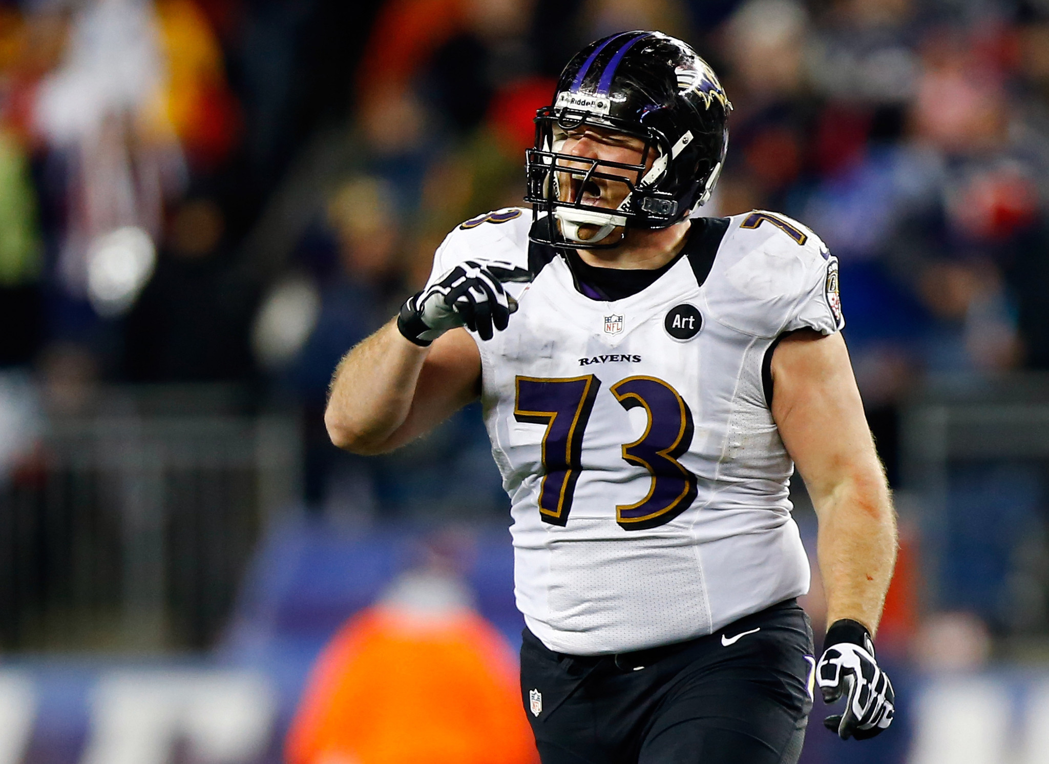 Marshal Yanda is quietly be ing one of the Ravens all time
