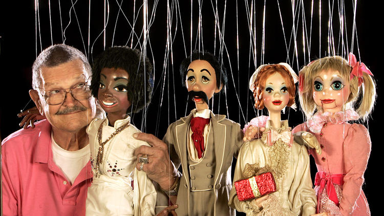 Bob Baker and marionettes